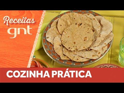 Chapati: pão indiano sem fermentação | Vídeo