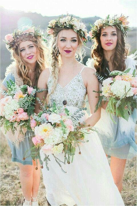 Bohemian Weddings Gold Wedding Dresses Dressses Ideas Favors Fairytale Gown Autumn