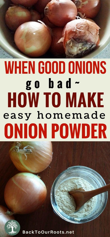 How to Make Easy Homemade Onion Powder