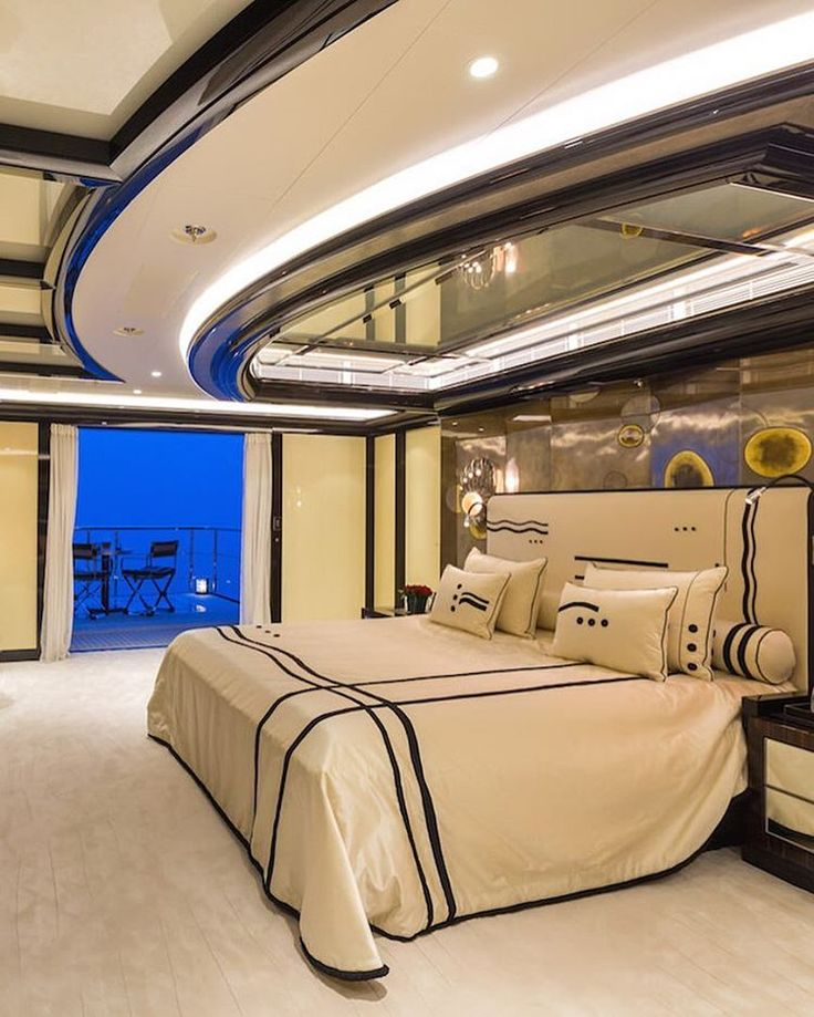 Bedroom from Lux Okto Yacht #styleestate