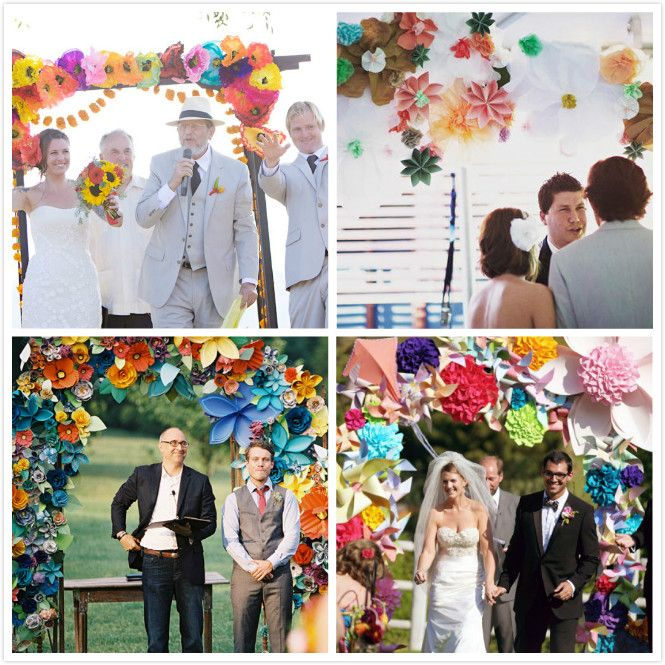 Diy Paper Flowers Wedding Arch: 62 Best Images About Paper Flower Arch For Kalam's Wedding