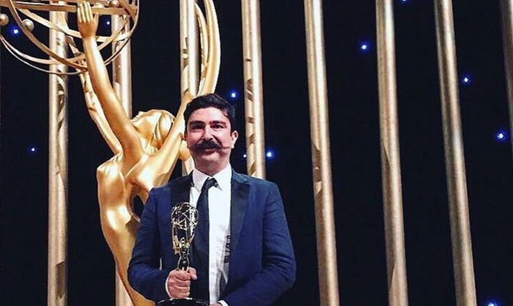 Animator Ekin Akalin from Los Angeles received Outstanding Motion Design Award at the 2017 Emmys