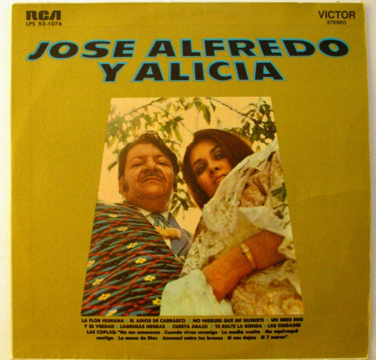 JOSE ALFREDO JIMENEZ Y ALICIA JUAREZ c/MARIACHI VARGAS DE TECALITLAN