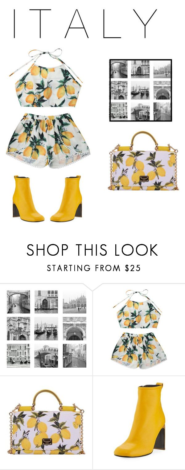 """""""Italian Outfit"""" by carlotamontasg ❤ liked on Polyvore featuring Dolce&Gabbana and rag & bone"""
