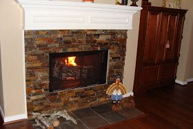 Crafty in Crosby: Fireplace Re-Do