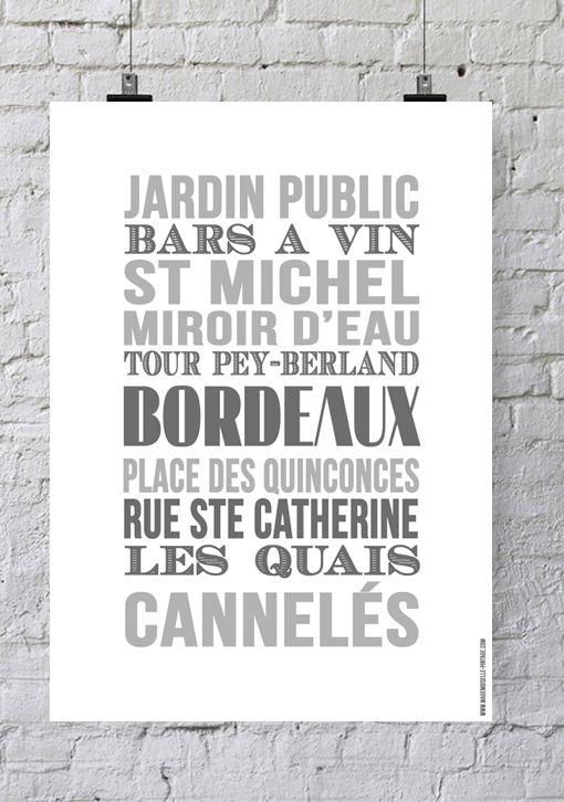 Affiche «Les Urbaines» – Bordeaux