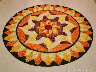 Collection of Onam Pookalam Photos (Images, Pictures, Wallpapers)   designs & sketches