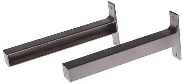 "Amazon.com: Ikea EKBY BJARNUM 7 1/2 ""Konsolen, Regalhalter, Aluminium, 2er-Set …"