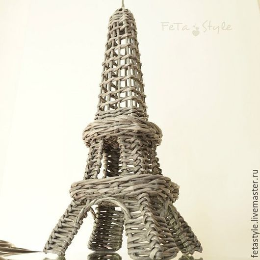 Детская ручной работы. Ярмарка Мастеров - ручная работа. Купить Эйфелева Башня плетеная интерьерная. Handmade. Эйфелева башня