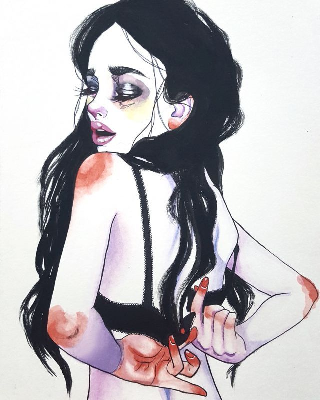 Harumi Hironaka, Illustrations.I'm into these simple watercolor illustrations by Brazilian artist Harumi Hironaka. I can't wait to see where she goes with her themes in future works.