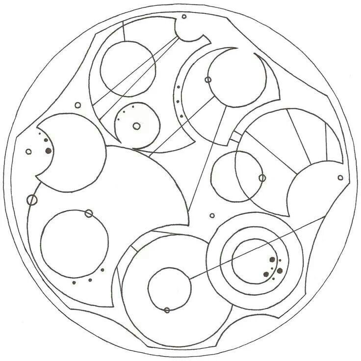 """""""Not all who wander are lost."""" In Gallifreyan! If I got a tattoo, this is very possibly what it would be! Combining the best of two worlds"""