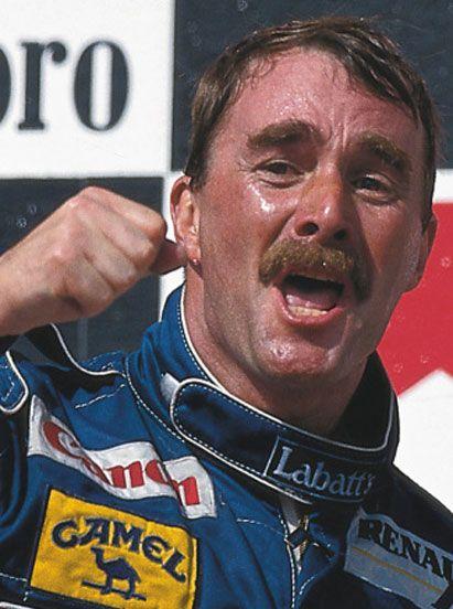 1992 Formula 1 world champion Nigel Mansell