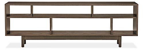 Dahl Media Consoles - Modern Media Storage - Modern Living Room Furniture - Room & Board