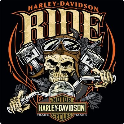 Harley-Davidson: Harley Davidson Ride Bone Sign