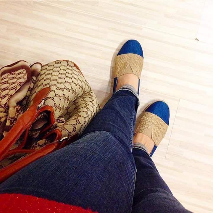 Edwina Teal  Model sporty yang lainnya Edwina dengan warna teal blue dari bahan tenun Jepara polos dan goni. Model2 sporty ini dibuat atas permintaan abege kesayangan @notvanyaraissa .. hehehe.. Masih dalam limited stock ya.. so grab it fast ya kak.. #loafers #shoes #shoesoftheday #handmadeshoes #burlap #madeinIndonesia #sepatu #tenunjepara #ootdindo #supportlocal #lovehandmade #handmade