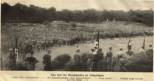 Pictures from the 1927 Nuremberg Rally