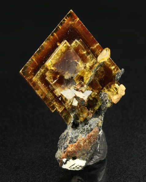 beautiful specimen of Barite from Magma mine, Superior, Pioneer District, Pinal Co., Arizona, USA