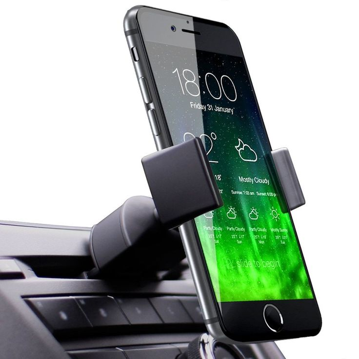 Koomus Pro CD Slot Smartphone Car Mount Holder Cradle for iPhone 6 6 Plus 5S ...