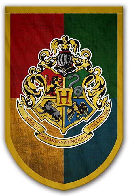 Harry Potter Style Banner - Hogwarts Flag 37x24 in - Printed on Both Sides  - Durable Enough for Outside Conditions - Perfect Barware Man Cave Gift -  Unique ... 6b0549b6833e