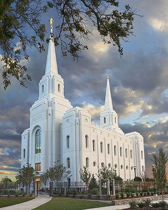 Brigham City Temple September 23rd 2012. The temple is located on the property where the Central Elementary School once stood at 250 South Main Street in Brigham City, across from the historic tabernacle.