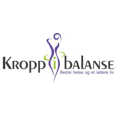 Vår nye logo design til Kropp i Balanse! #logokompaniet #LogoDesign