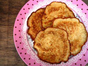 Pannenkoekjes van Banaan en Ei