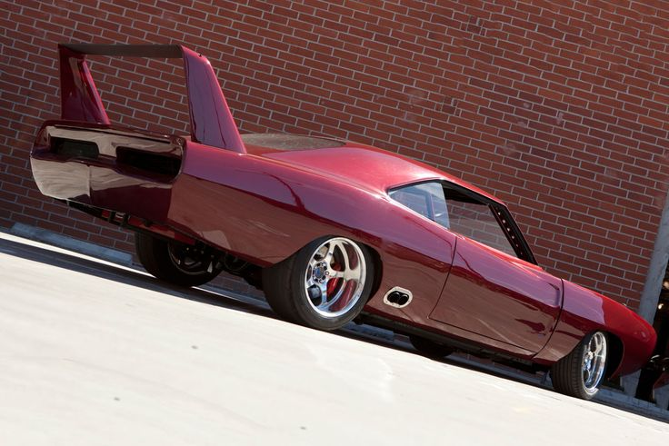 Custom 1969 Dodge Daytona - Dom's car from Fast and Furious 6