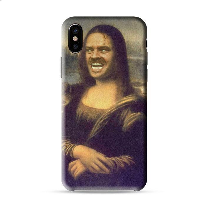 Mona Lisa Jack Nicholson The Shining Art Iphone X 3D Case Caseperson