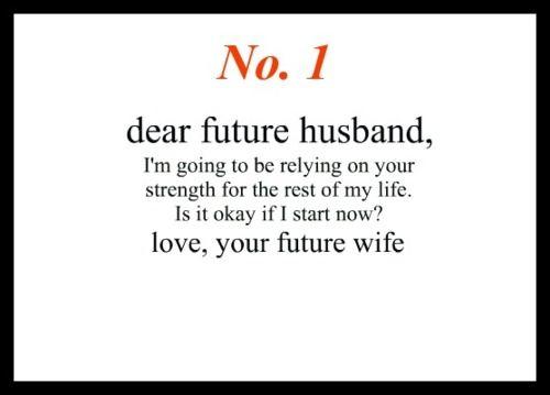 dear future husband quotes - photo #2