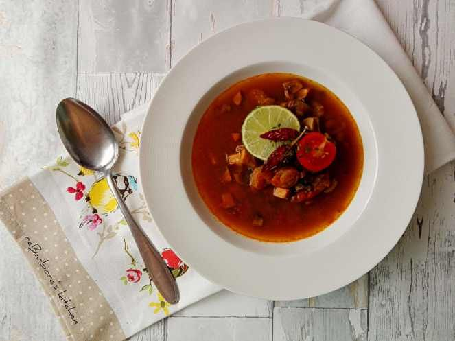 Thajská pikantní polévka s krevetami - Tom yum goong | reBarbora's kitchen