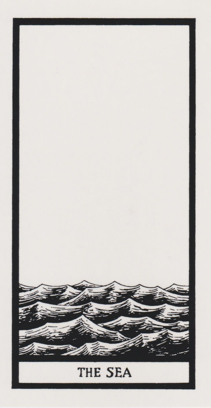 hazel-motes:  From the Edward Gorey Tarot deck.  ,""
