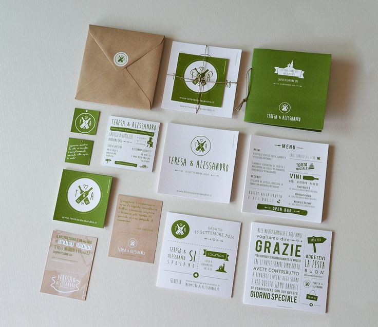 Teresa & Alessandro - Wedding Stationery