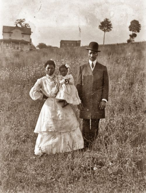 African American settler family, unidentified location, circa 1880s