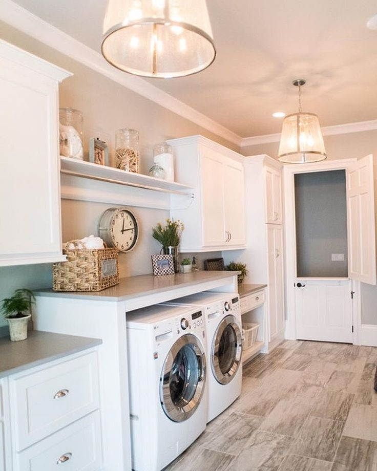 Such A Lovely Laundry Room By Artisan Design Studio Hello Dream Laundry Room Liken The Looks Of That Pinterest Instagram Dutch Door And Washers
