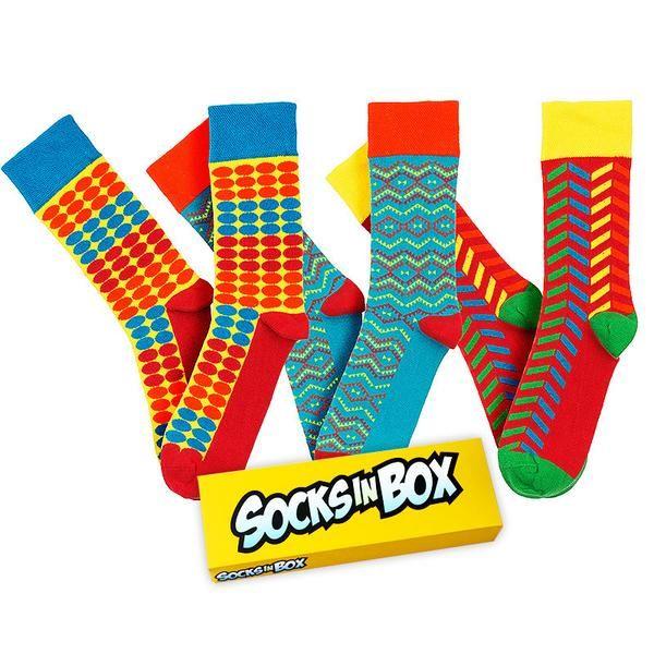 Zbrusu nová verze ikonického modelu Cirkus doplňuje speciální re-edici nejpopulárnějších modelů SocksInBox. Velikost 41-45