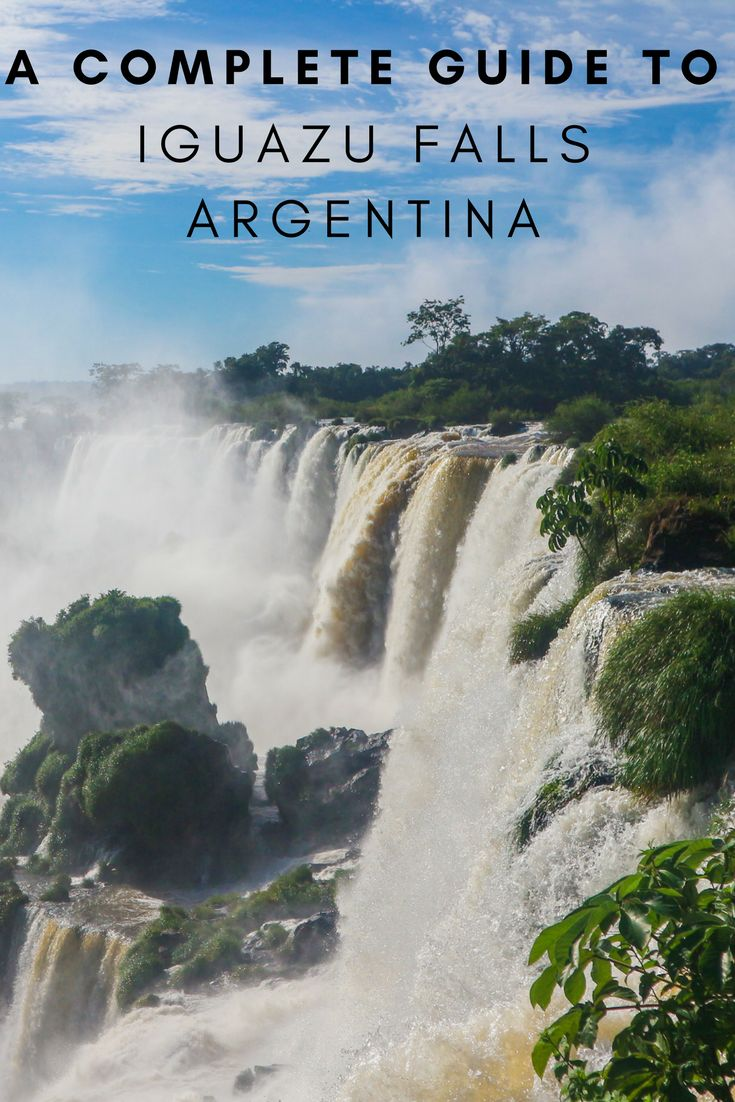 South America Map Borders%0A A guide to visiting Iguazu Falls  Argentina