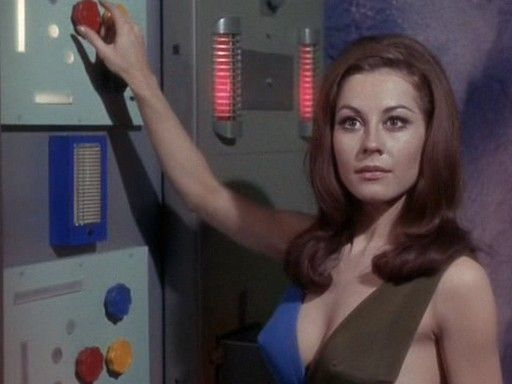 "Sherry Jackson as Andrea on Star Trek (""What Are Little Girls Made Of? - 1966)"
