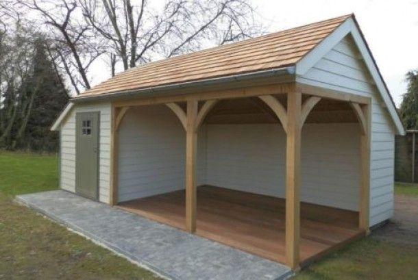 Tuin ideeën | Leuk tuinhuis voor de achtertuin Door Creajuultje