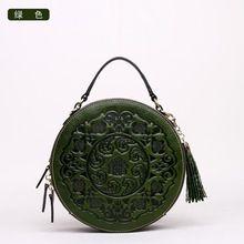 Высокое качество Китайский стиль Фирменное наименование Натуральная кожа шаблон женская мода сумки Старинные сумки на ремне Сумка Бесплатная доставка(China (Mainland))