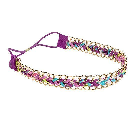 Chain-Link Headband in Flutterby