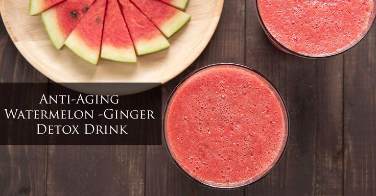 Known for its nutritious value and refreshing properties, watermelon and ginger drink is the best way to detox your body. The benefits of watermelon make it a preferred choice for a healthy diet. Watermelon-Ginger Juice can be prepared fresh throughout the year. Watermelons contain more water and less sugar or