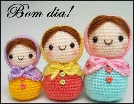 Amigurumi Russian Doll Pattern : Best amigurumi images crochet animals knit