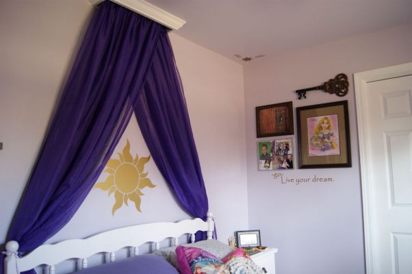 I've already started gathering the supplies for this project for Ava's Rapunzel room - I am SO excited!!!