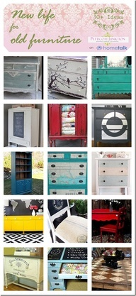 New Life For Old Furniture, Restyled Furniture Ideas - Petticoat Junktion - Petticoat Junktion