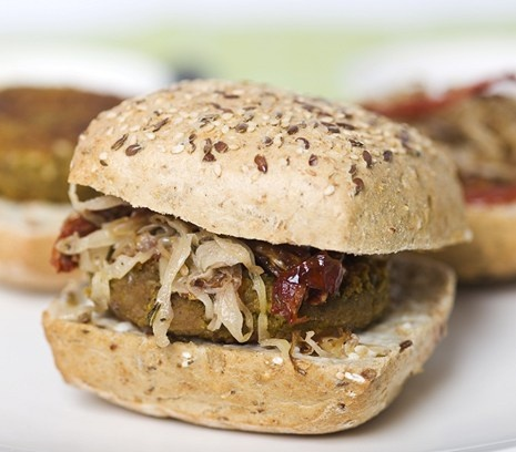 Recept: Burger met zuurkool - van Lisette Kreischer