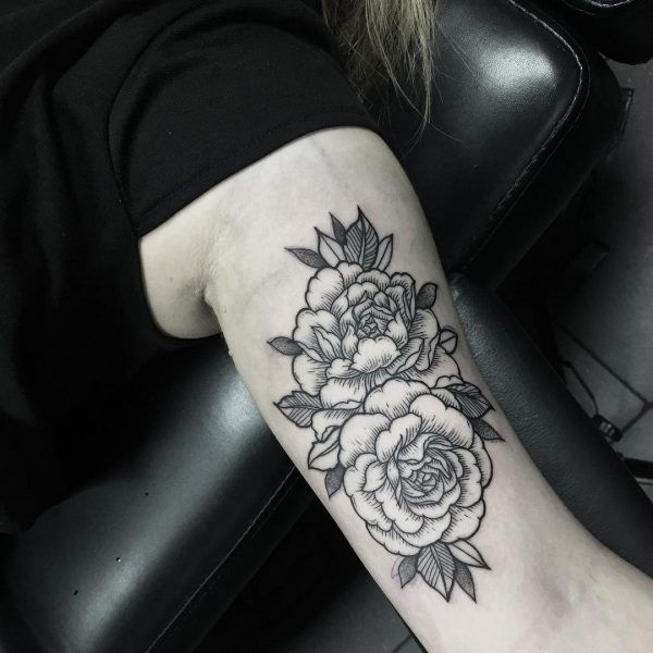 Flower, arm tattoo on TattooChief.com