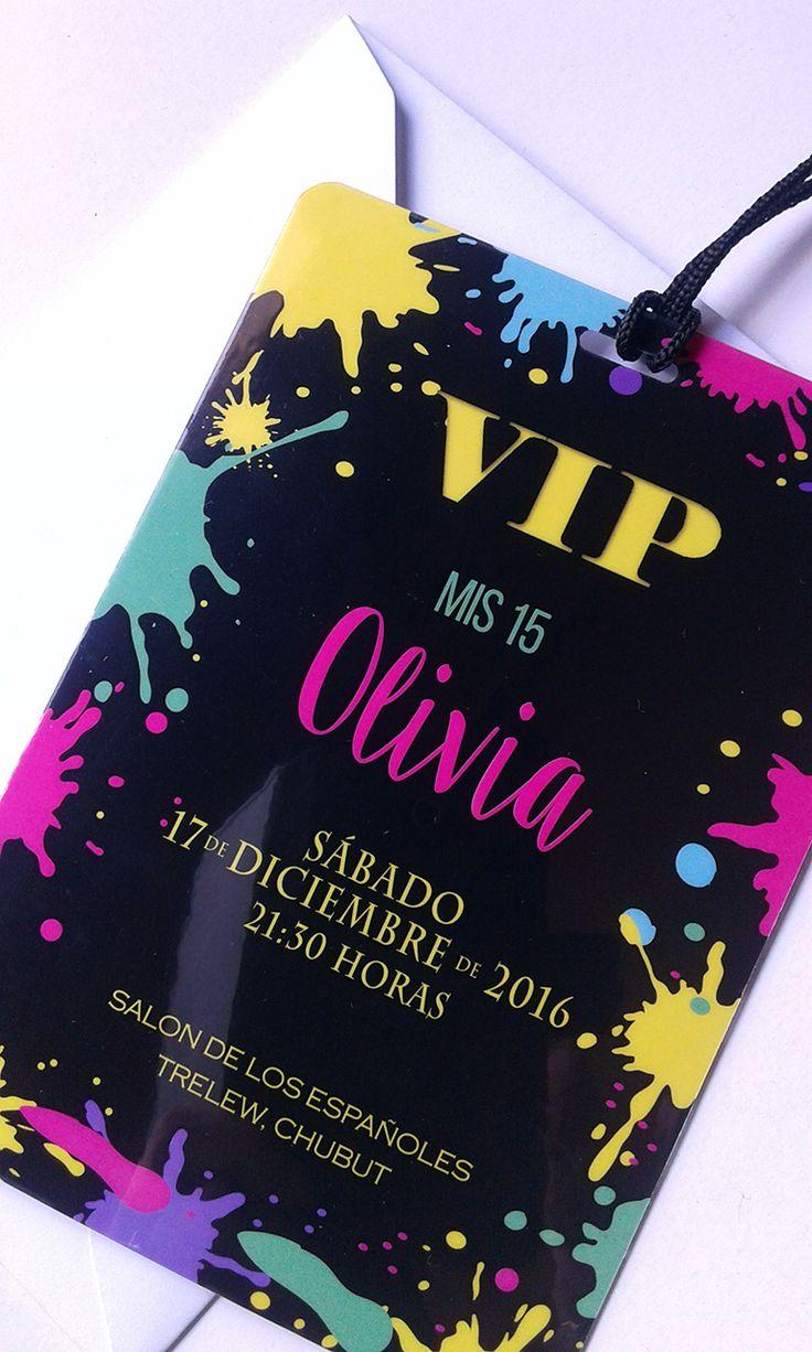 Invitaciones VIP Quince Años