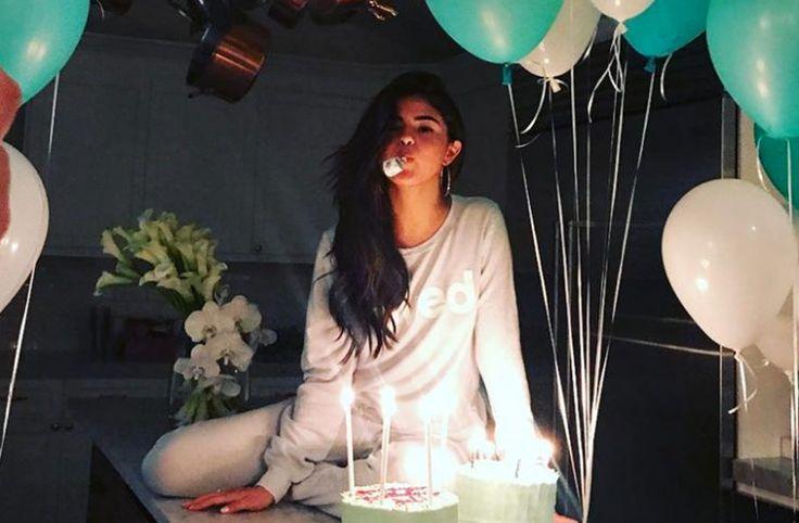 Así celebró Selena Gomez su cumpleaños número 25