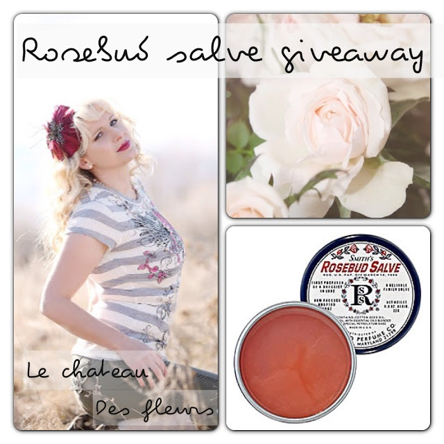 Rosebud salve review and Giveaway