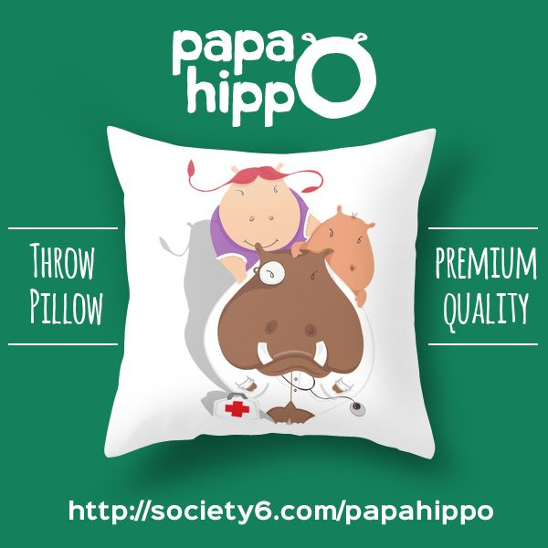 High Quality Throw Pillow, printed, produced and shipped from US to everyone in the world! :)
